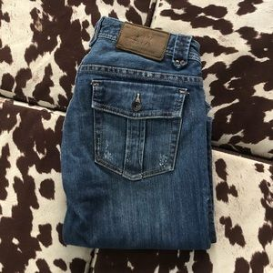 Amani Exchange | Straight Leg Jeans